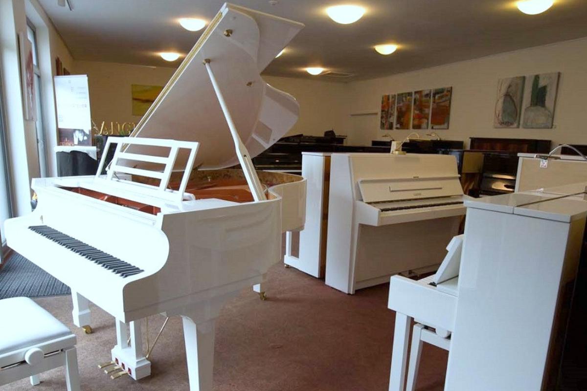 weiße Instrumente 2