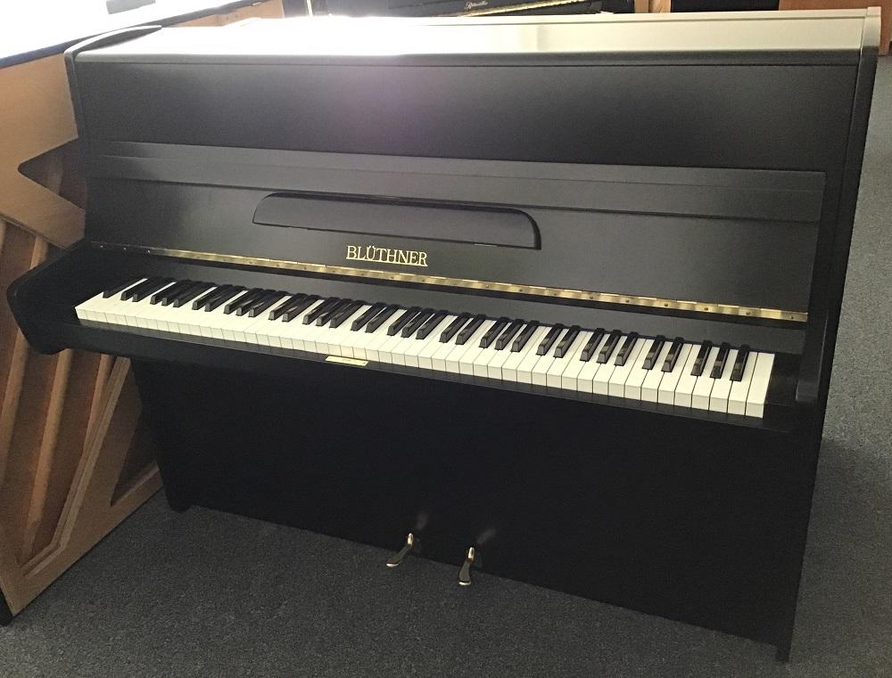 gebrauchtes Blüthner Klavier schwarz